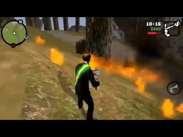Bolsonaro tacando fogo na Amazônia ao som de Racionais