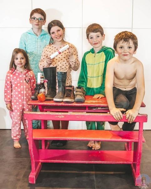 Мама пятерых детей Софи Ламбрехт и жизнь большой семьи как она есть