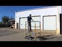 Power Snappy Motorized Utility Work Platform