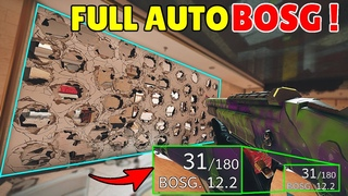 *Fully Automatic + Unlimited Bullets* BOSG Destroying Everything In 0.1 Second - Rainbow Six Siege