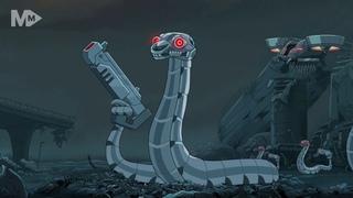 #РикиМорти лучшие моменты (4s5e)  Змеи роботы