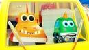Музыкальные мультики про машинки Мокас - Песенки для детей