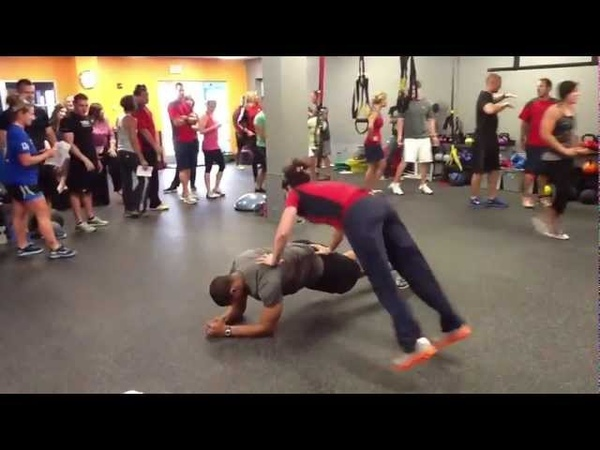 Creative Partner Body Weight Exercises 90 Moves In 9 Minutes I Trish Blackwell