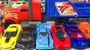 Игрушки Большая Коробка Машинки Хот Вилс Монстр Трак Грузовики Спорткары Суперкары