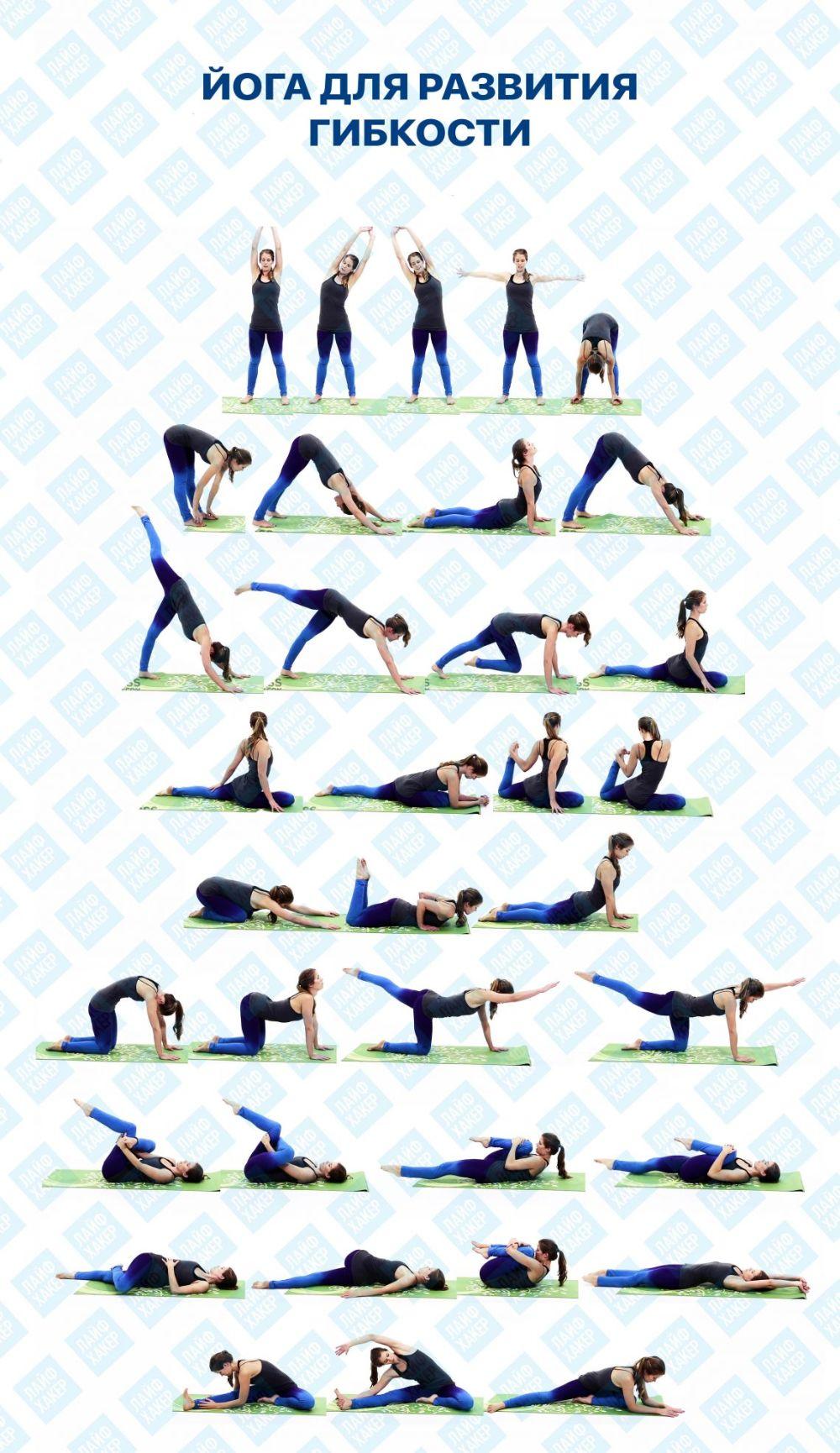 Подборка комплексов йоги