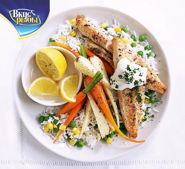 С каким гарниром сочетается рыба при диете