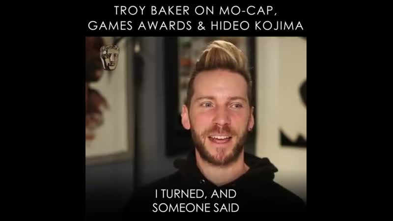 Troy Baker on Motion Capture the BAFTA Games Awards and Hideo Kojima