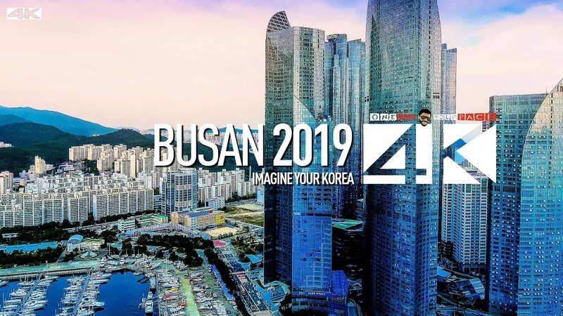 4K Drone Footage Busan Metropolitan City SOUTH KOREA 2019 Imagine your Korea Pusan