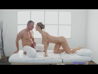 Nathaly Cherie - Big tits MILF served a creampie [All Sex, Athletic, Bald Pussy, Big Tits]