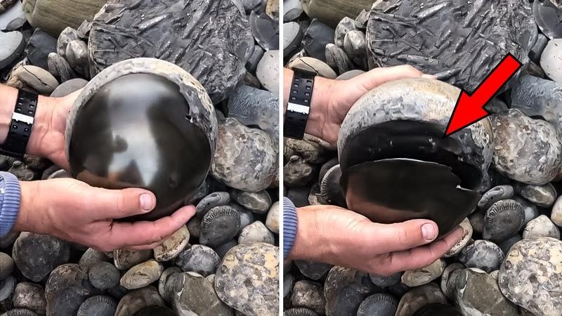 Wenn du komische Eier wie diese findest nimm sie mit nach Hause Das ist was sie sind