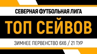 Северная Футбольная Лига | Зимнее первенство 6х6 | Топ сейвов 21 тур