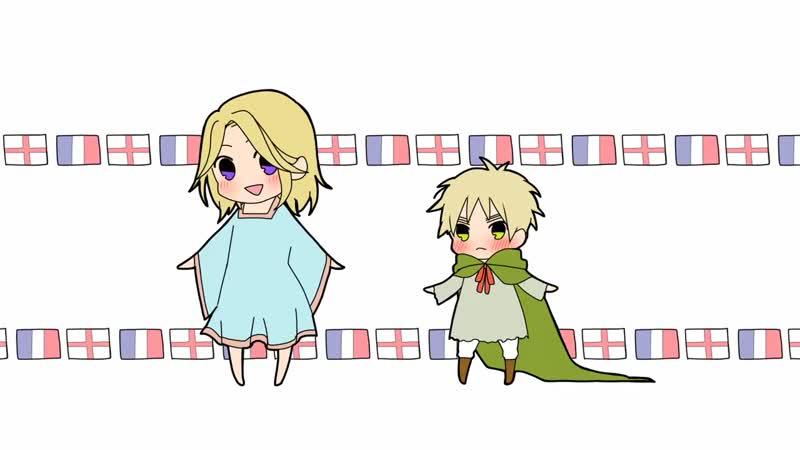 APヘタリア Ton Ton Mae! France and UK
