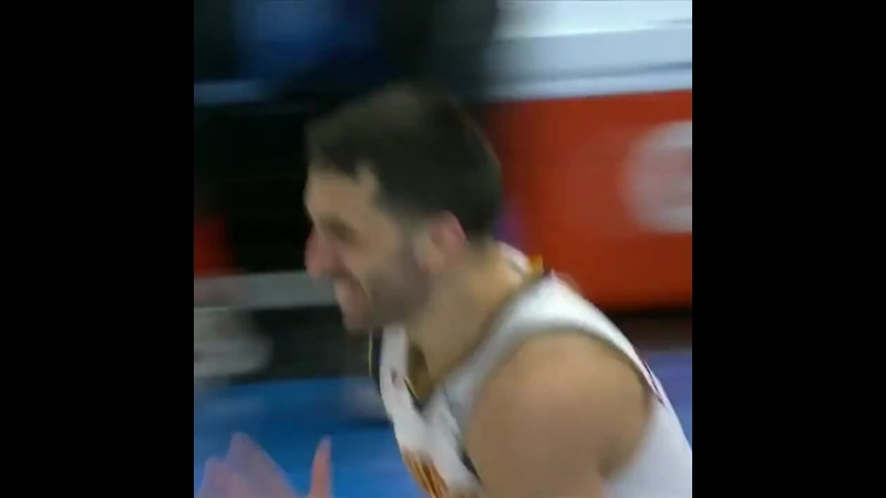 Facy tried to dunk)
