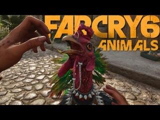Новое видео Far Cry 6 взаимодействия с животными