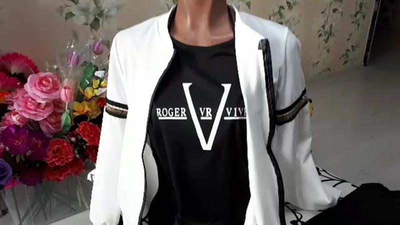 Спортивный костюм 3ка с черной футболочкой