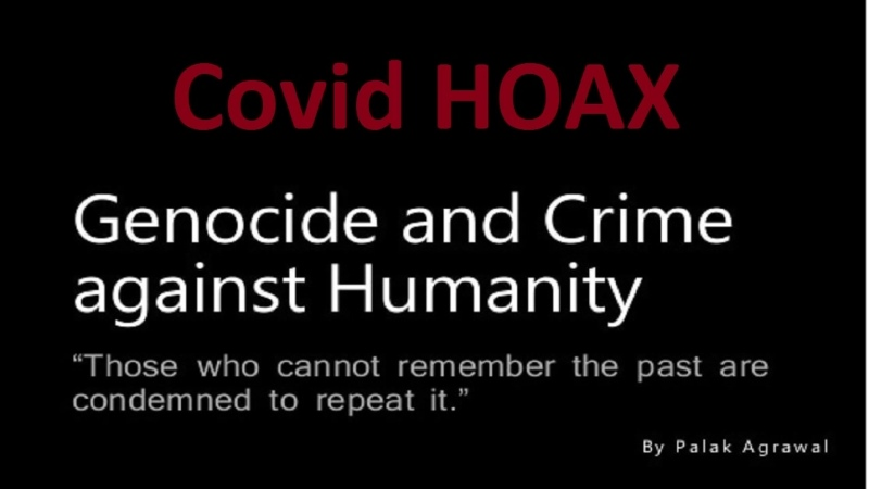 CovidHOAX Never Forget What They Have Done to You Do Not Comply Ever