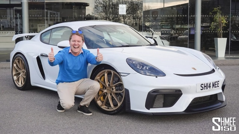 I've BOUGHT a Porsche 718 Cayman GT4 Collection Day of the Surprise New Shmeemobile