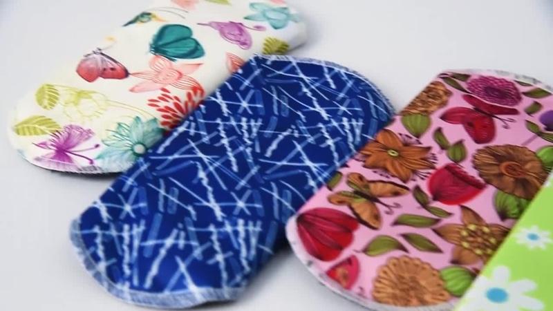 6 шт многоразовые женские гигиенические прокладки 16,5 см женские менструальные прокладки моющиеся салфетки гигиенические