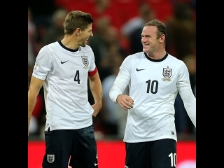 Steven Gerrard and @WayneRooney - - A look at what happened the last time the ThreeLions faced Poland at @wembleystadium