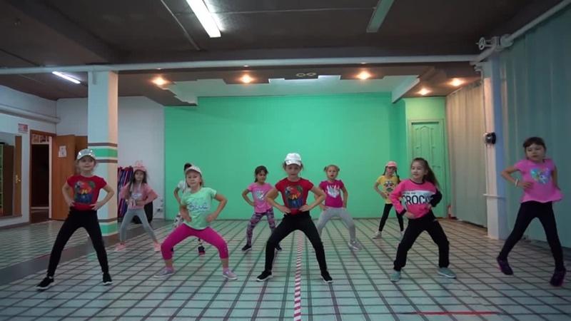 хип хоп baby shark группа современного танца Карамельки 6 7 лет