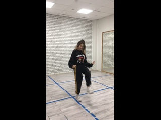 Wash us in the blood - Алина Павлючкова (хорео: Чередниковой Настя Танцы ТНТ)