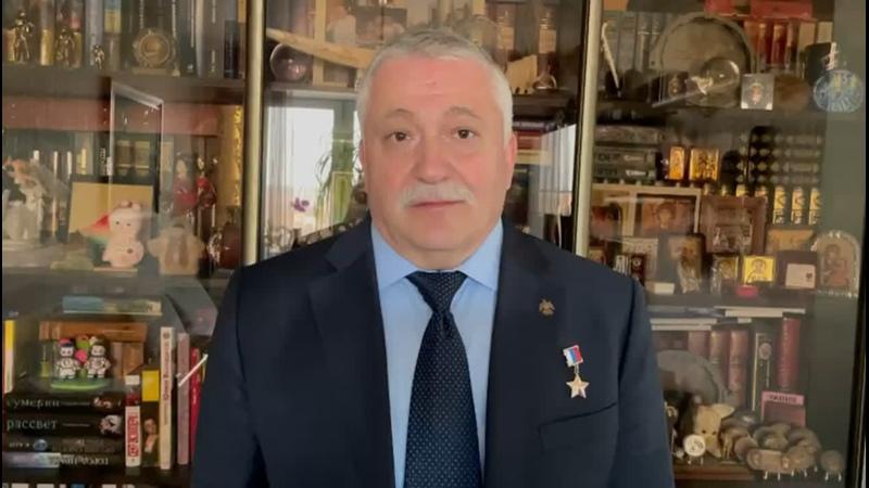 Фёдор Юрчихин - лётчик-космонавт Российской Федерации