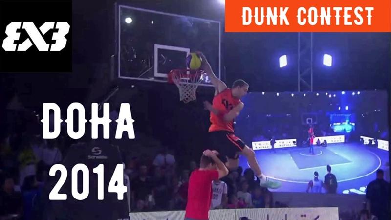 Dunk Contest Doha 2014 (Detro)