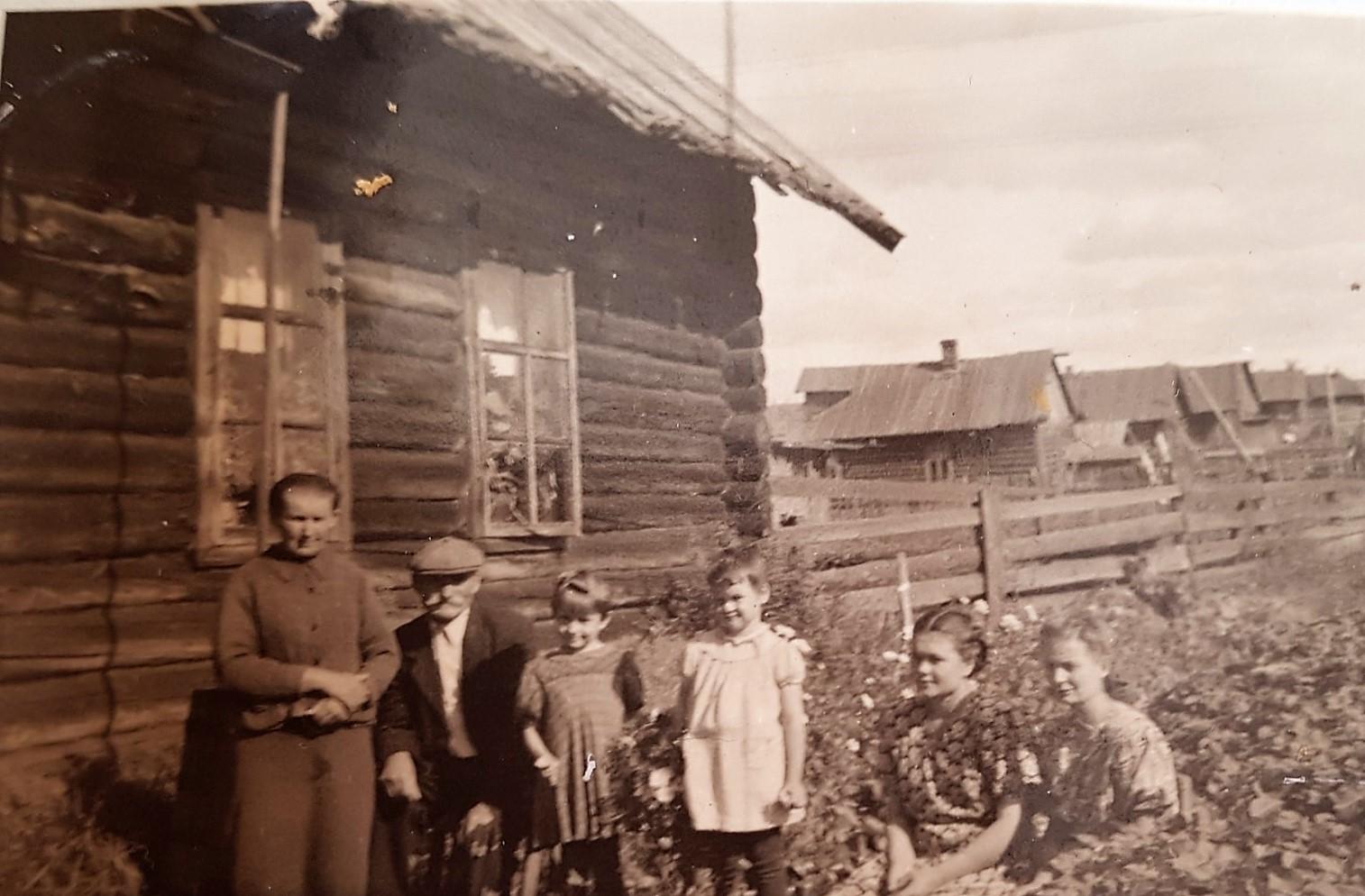 Фото конца 1940-ых - первой половины 1950-ых