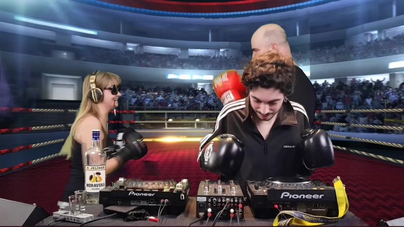 6 190 00~ C mat weasel busters ★ versus ★ b unq ★ versus ★ neika ★ the boxing hardtek mix