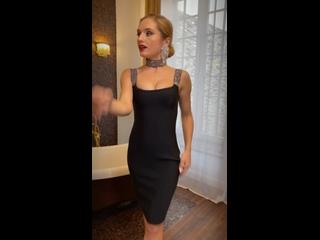 Эффектное платье с стразами на бретелях 🖤| магазин платьев DBV💋