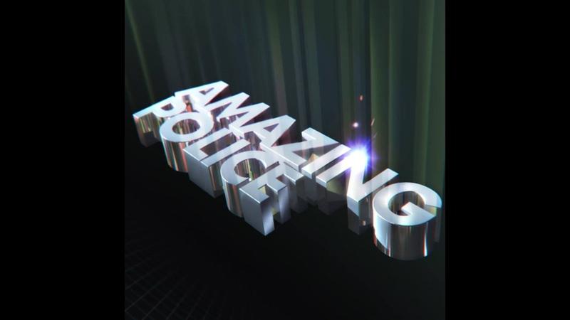 Amazing Police - Exclusive Lazerdiscs Records Synthwave Stream Live Act