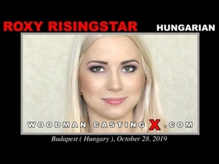 Woodman Casting X - Roxy Risingstar HD porn sex hardcore fuck big ass butt booty busty blowjob sucking rimming ANAL DP amateur