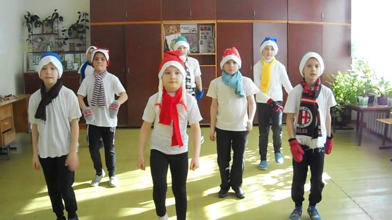 Фитнес группа Маша и 7 гномов 1 и 3 класс