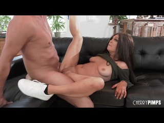 CherryPimps - Finds Happiness On Her Step Dads Dick / JoJo Kiss