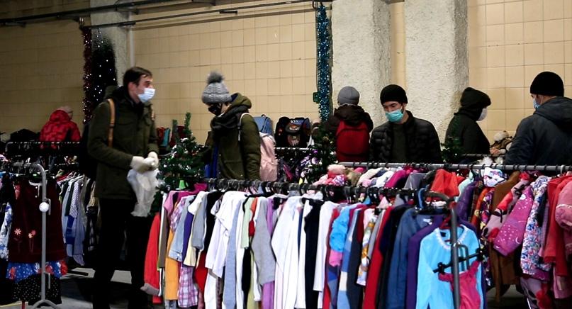 Благотворительная акция «Время дарить» прошла в Москве при поддержке кинокомпании «Союз Маринс Групп», изображение №1
