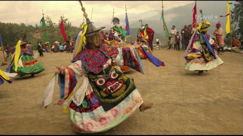Путешествие на край света с Артом Вольфом 23 серия Королевство Бутан