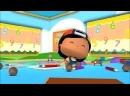 Развивающие мультфильмы для детей от 3 лет - Пеппе - 5 серия - Пеппе идет в школу!