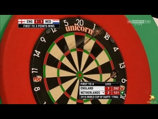 England vs Netherlands (PDC World Cup of Darts 2016 / Final)