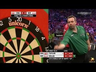 England vs Northern Ireland (PDC World Cup of Darts 2016 / Semi Final)