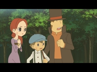 Профессор Лейтон и Дива вечности / Layton Kyouju to Eien no Utahime / Professor Layton and the Eternal Diva (Озвучка) [Persona99