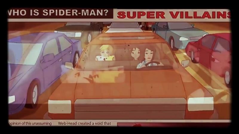 Заставка мультфильма Грандиозный Человек Паук 2008