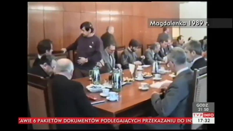 Nieopublikowany zapis rozmów w Magdalence 1989, śmieci pokazane przez Gmyza w TVP Kurskiego dla zabałamucenia Narodu Polskiego