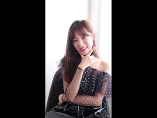 """· Message · 180910 · OH MY GIRL (Arin) · """"Remember Me"""" Special Style Card Video ·"""