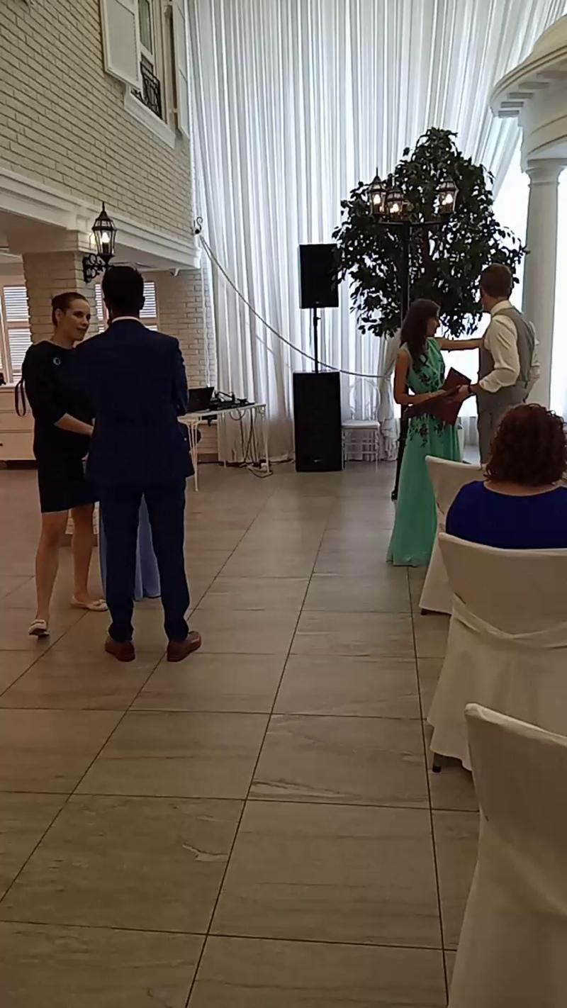 Любимы Свадьбы);Банкетный зал Вятка .Жених из Германии)