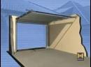 Hormann установка секционных гаражных ворот