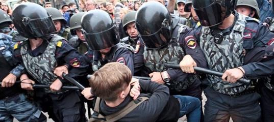 Митинг в Москве 23 января в поддержу Навального Алексея. Жестокое избиение людей!