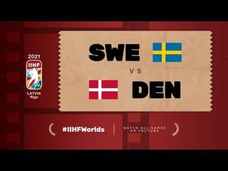 ЧМ-2021. Группа А. 1-й тур. Дания — Швеция — 4:3