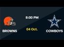 NFL 2020-2021, Week 04, Cleveland Browns - Dallas Cowboys, RU, Viasat Sport HD Live Stream