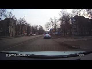 Аварийный комиссар на встречке Воронеж
