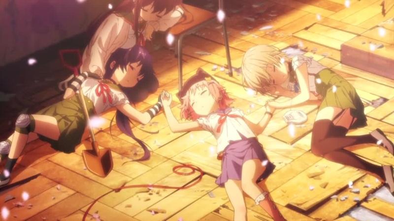 Gakkou Gurashi! Ending 3 (TV - Afterglow by Maon Kurosaki)